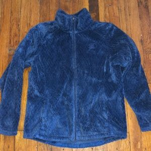The North Face jacket osito fuzzy blue sz large